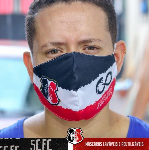 Santa Cruz lança máscaras  de proteção em combate à Covid-19