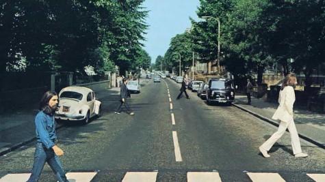 Capa 'Abbey Road' recriada