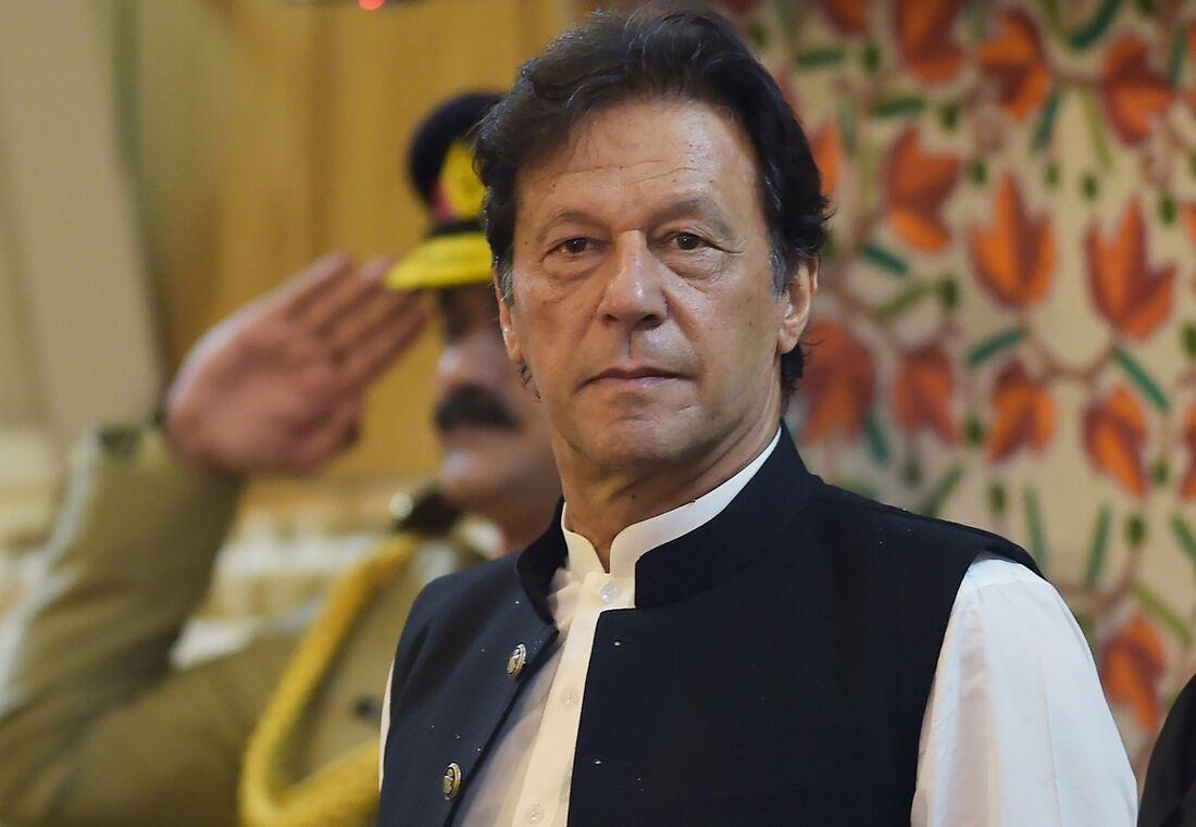 Imran Khan, premiê do Paquistão