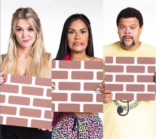 Marcela, Flayslane e Babu estão no paredão