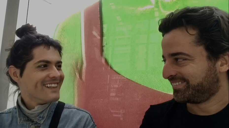 Filipe Catto e Fabiano Antunes