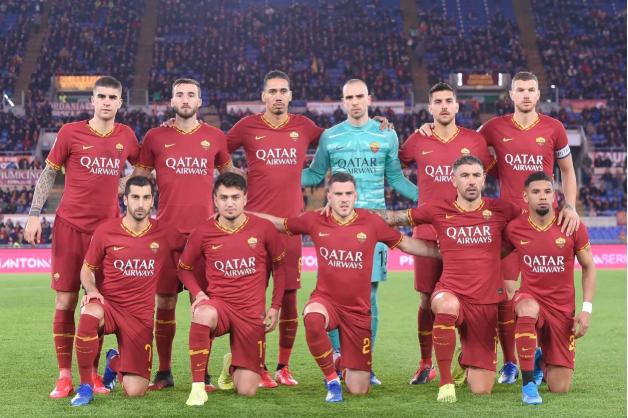 Jogadores da Roma