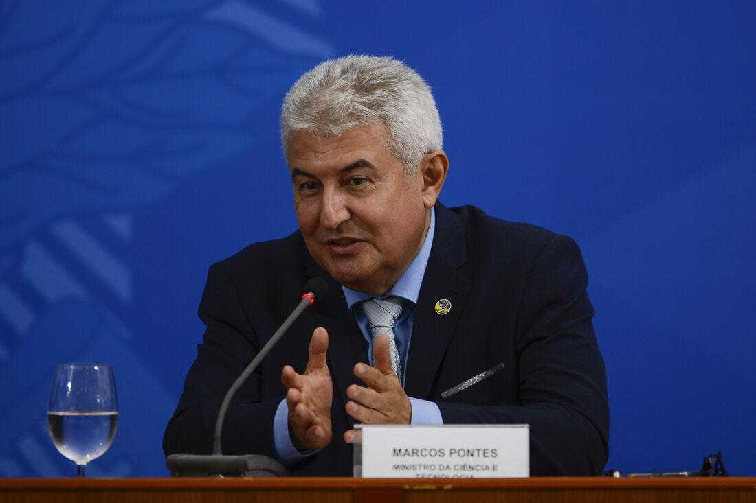 Marcos Pontes, ministro da Ciência, Tecnologia, Inovações e Comunicações