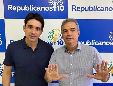 Silvio Costa Filho agora conta com Gilberto Alves nas hostes do Republicanos