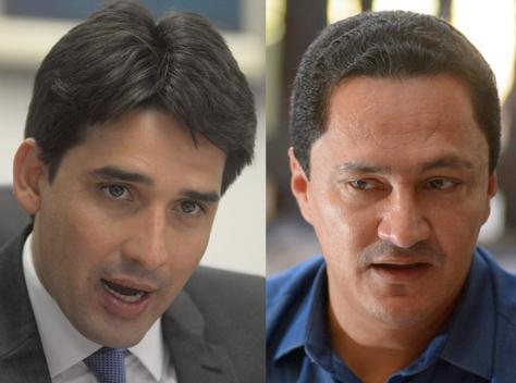 Silvio Costa Filho e André Ferreira