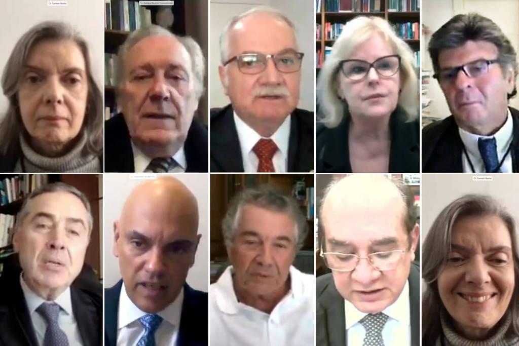 Votação remota entre ministros do STF definiu manutenção da MP