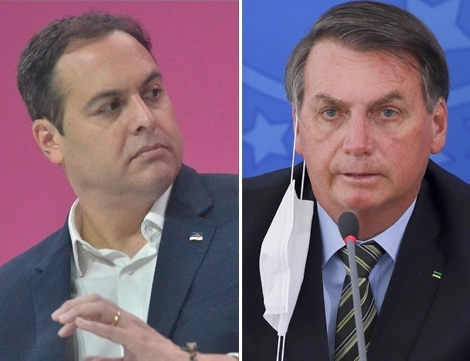 Paulo Câmara e Jair Bolsonaro