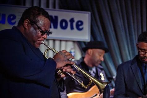 O trompetista americano de jazz Wallace Roney