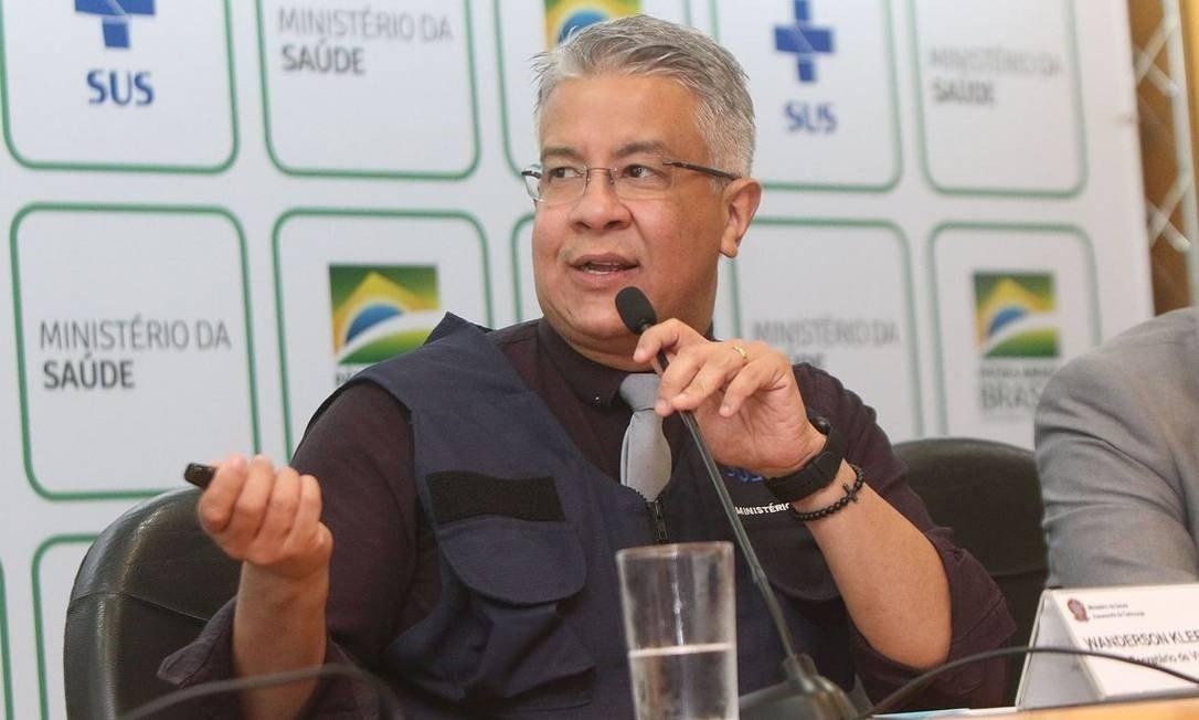 Wanderson de Oliveira, secretário de vigilância do Ministério da Saúde
