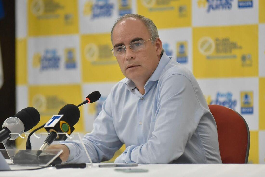 Secretário de Finanças Ricardo Dantas disse que os recursos federais são insuficientes