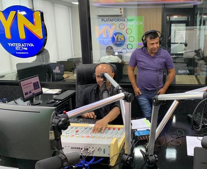 Ynterativa FM reforça jornalismo em meio à pandemia