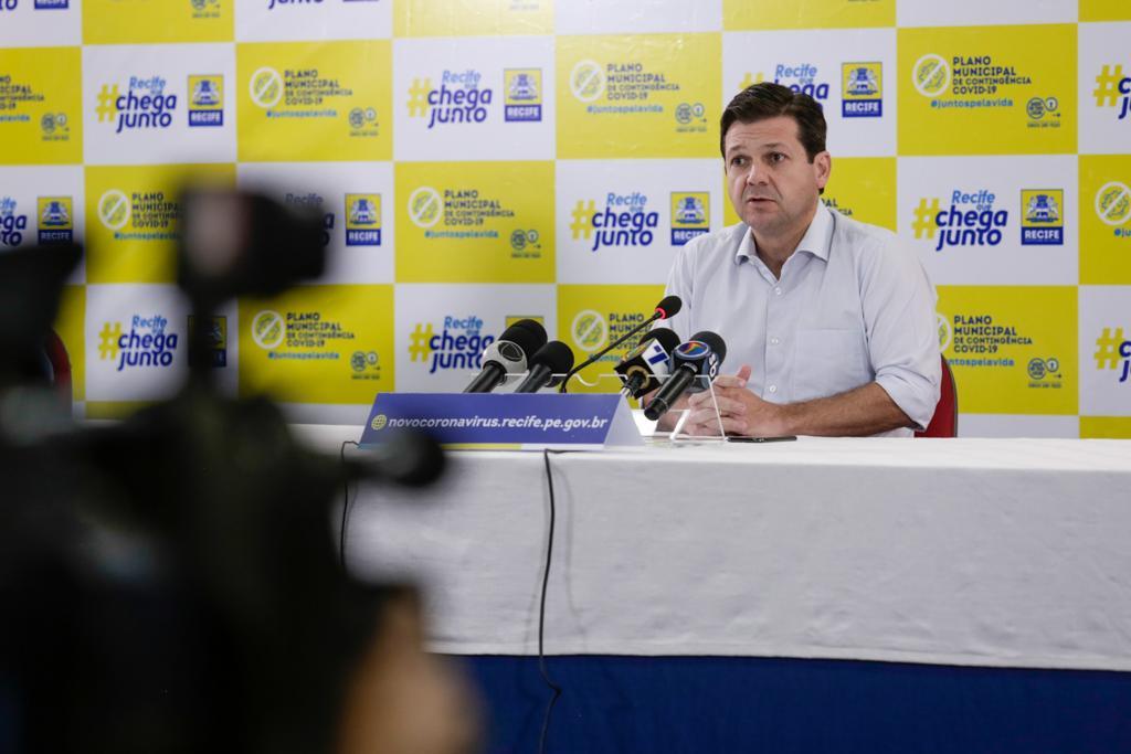 Prefeito Geraldo Julio anuncia novas ações do Plano de Contingenciamento Covid-19