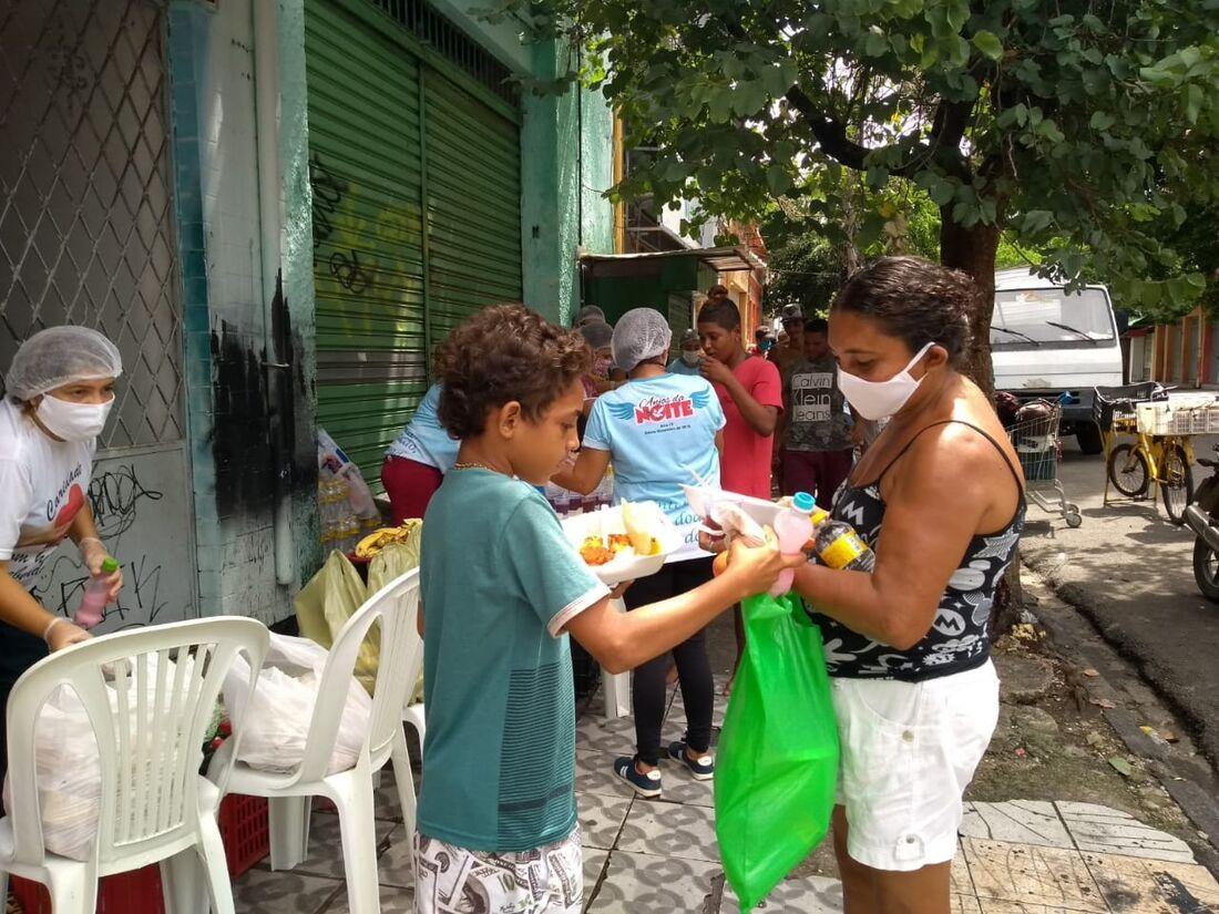 Distribuições de refeições