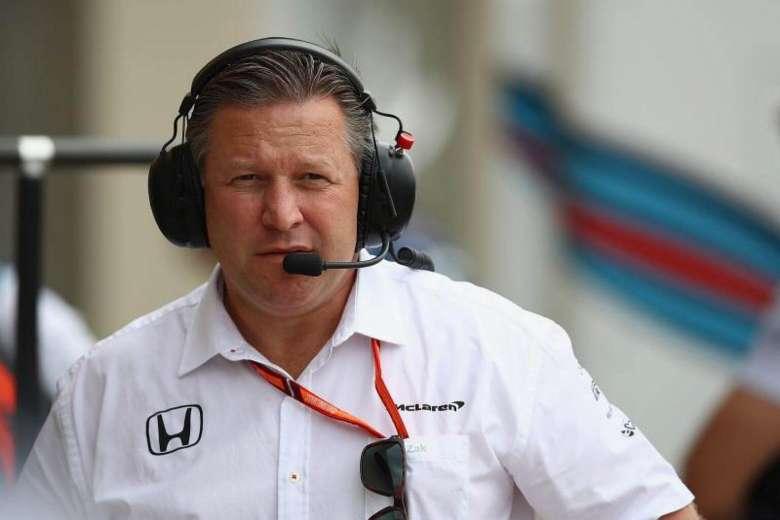 Zak Brown, chefe da McLaren