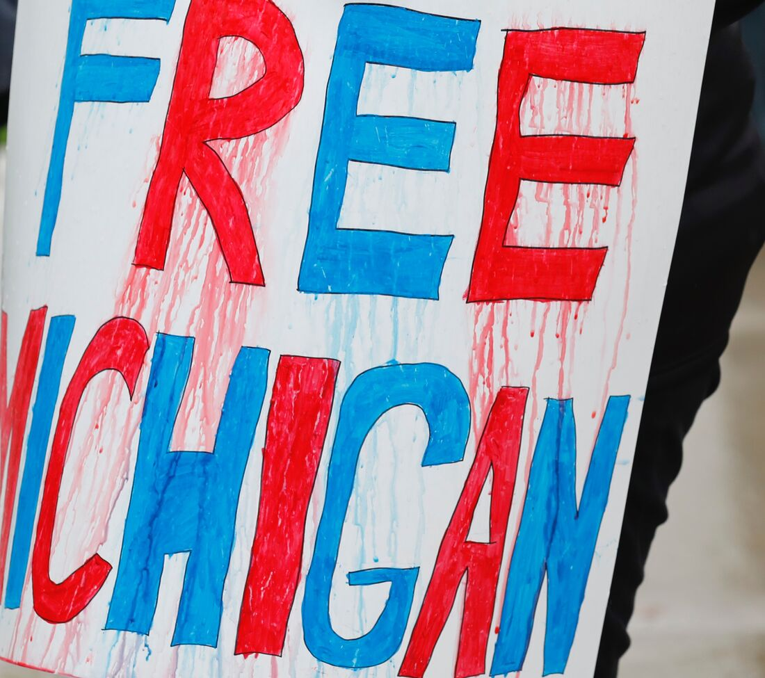 Protesto ocorreu em Michigan, nos EUA