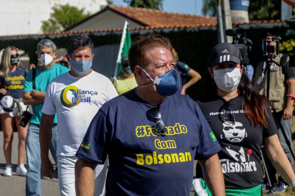 Protestos pró e contra o ex ministro da justiça, Sergio Moro