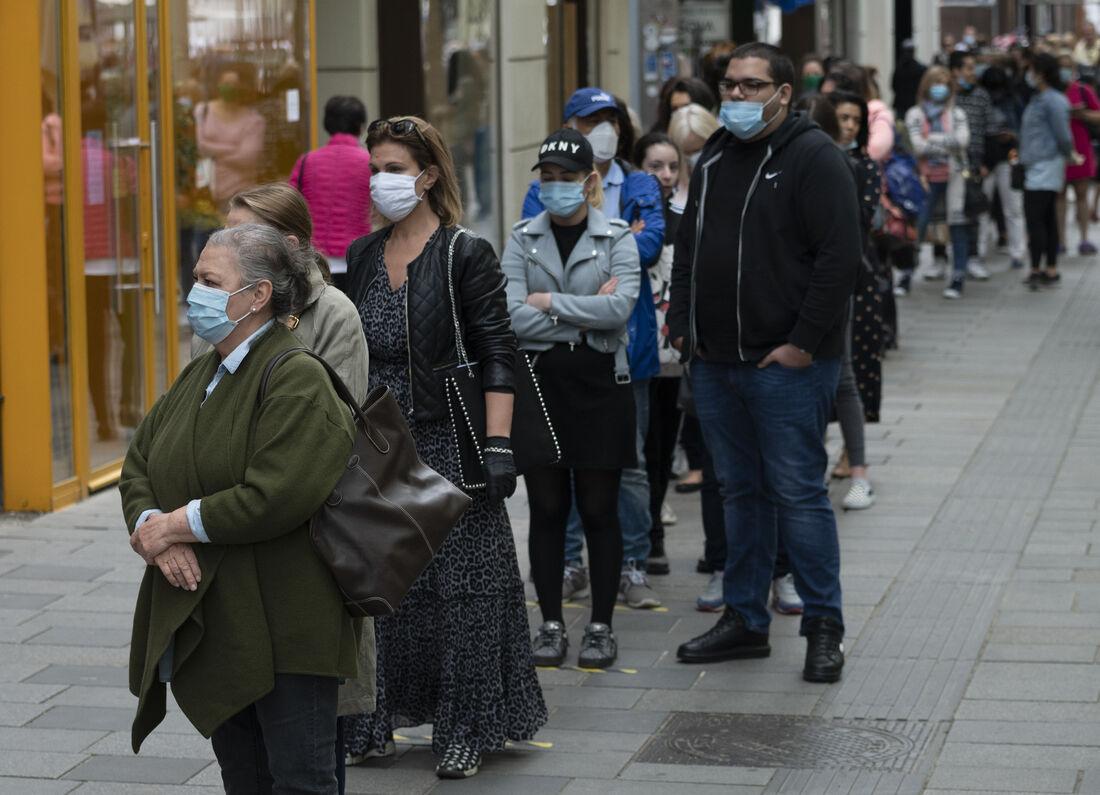 Áustria em meio à pandemia do coronavírus
