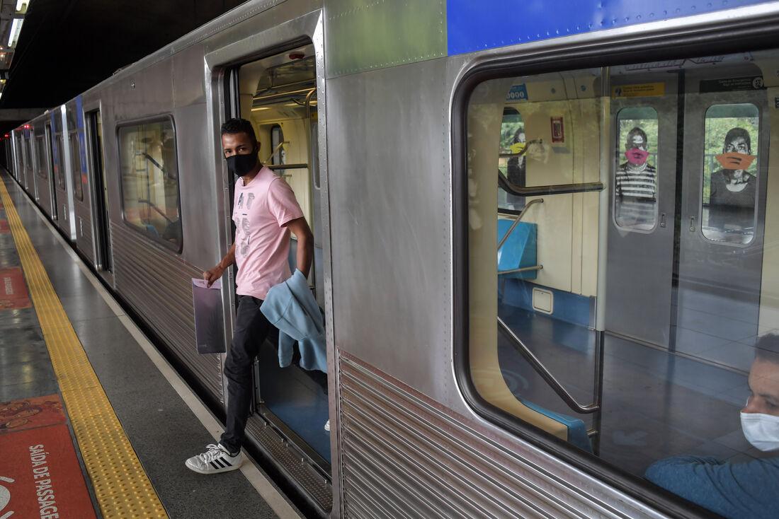 Metrô em São Paulo