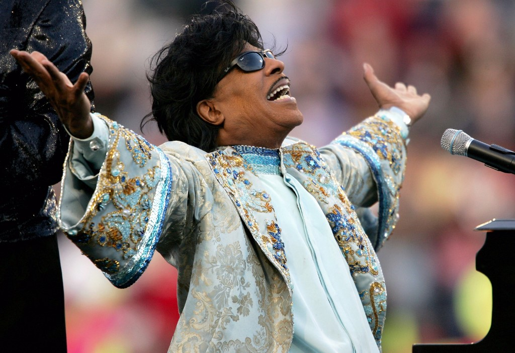 Little Richard inspirou Beatles e Elton John