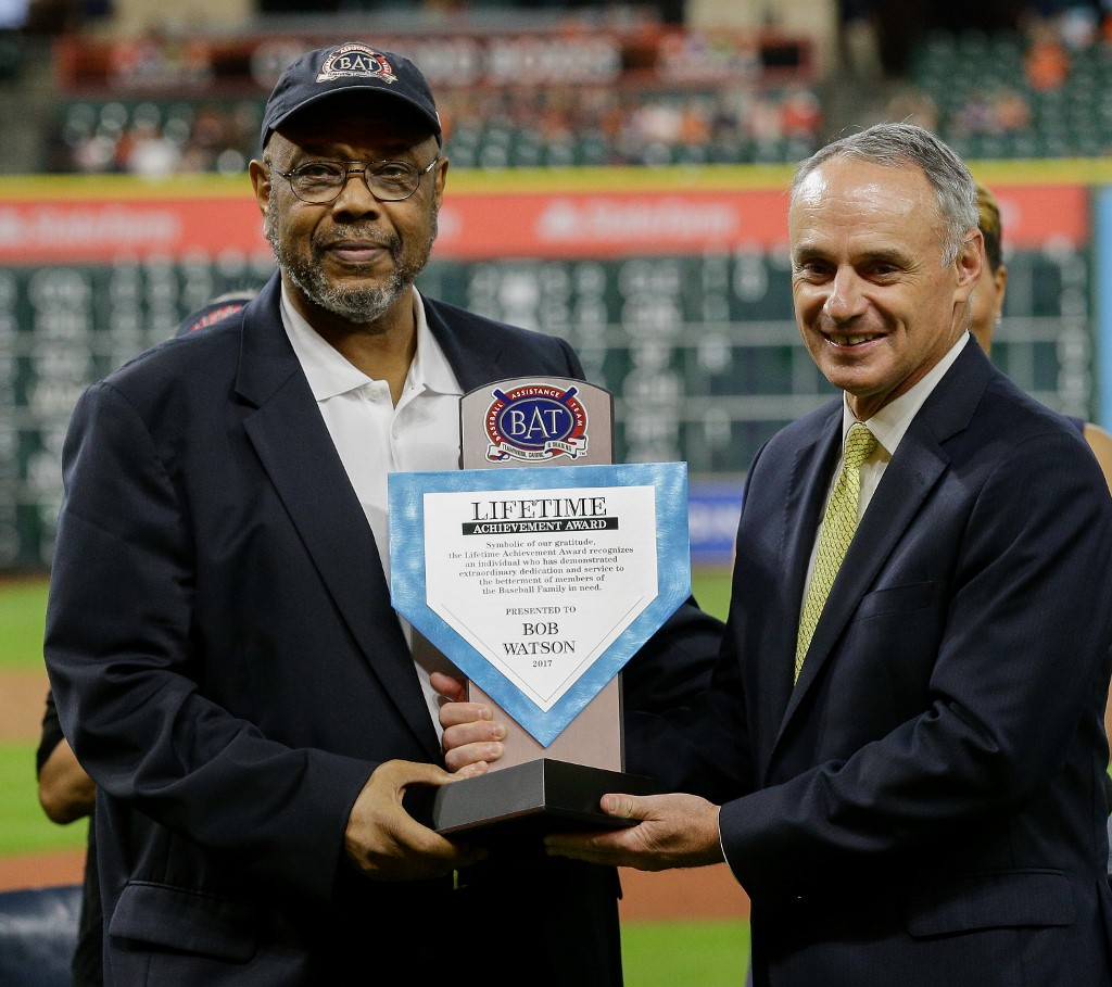 Bob Watson, ex-jogador e técnico de beisebol