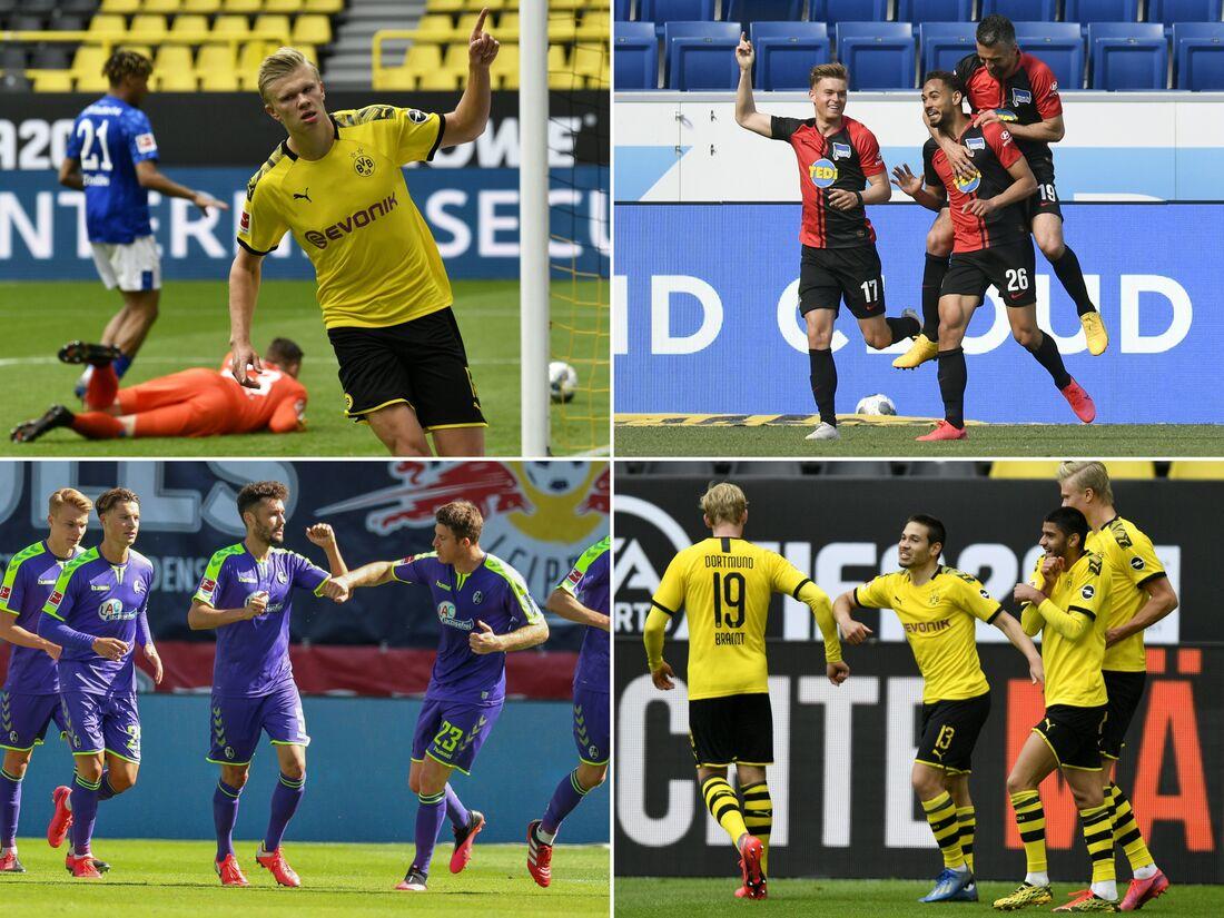 Bundesliga foi a primeira das grandes ligas da Europa a retornar