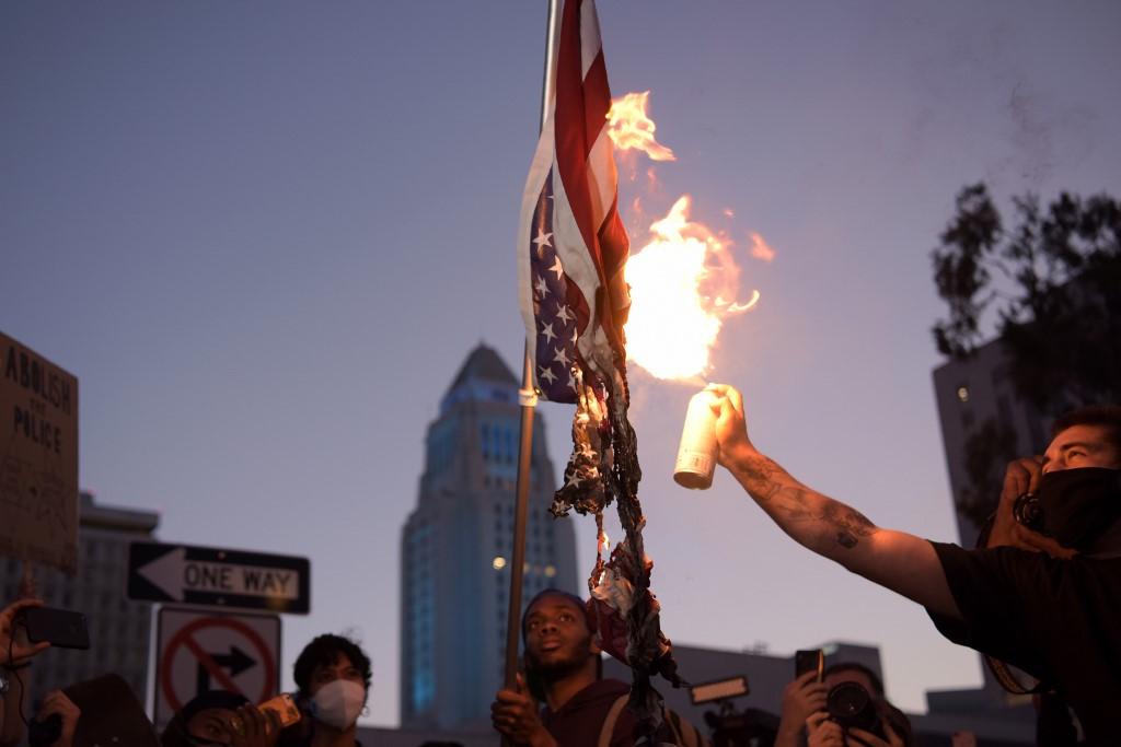 Manifestantes tomaram ruas dos EUA em protesto