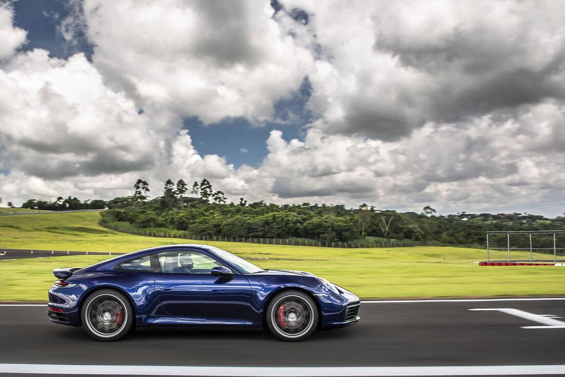 Nova geração do esportivo 911 no Brasil