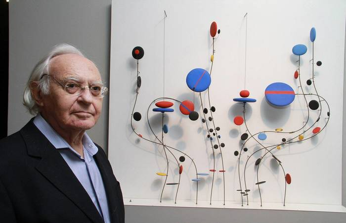 Abraham Palatnik, precursor da arte cinética e fundador da arte tecnológica no Brasil
