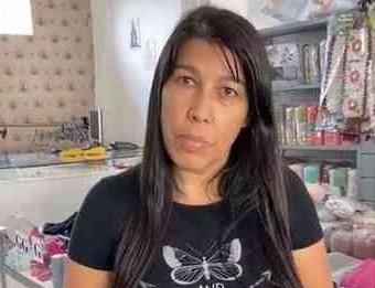 A vendedora Valdete Zanco, de Campanha (MG), gravou e compartilhou fake news