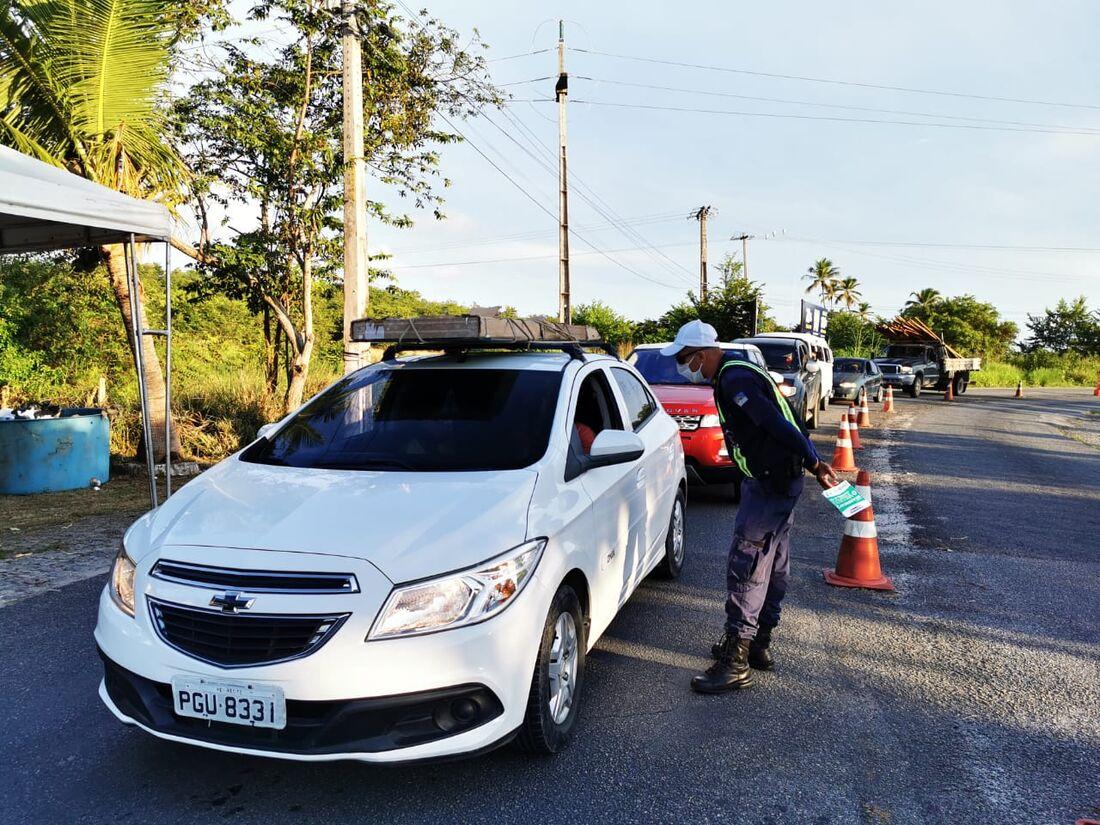 Fiscalização na Ilha de Itamaracá