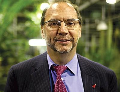 Virologista belga Peter Piot,