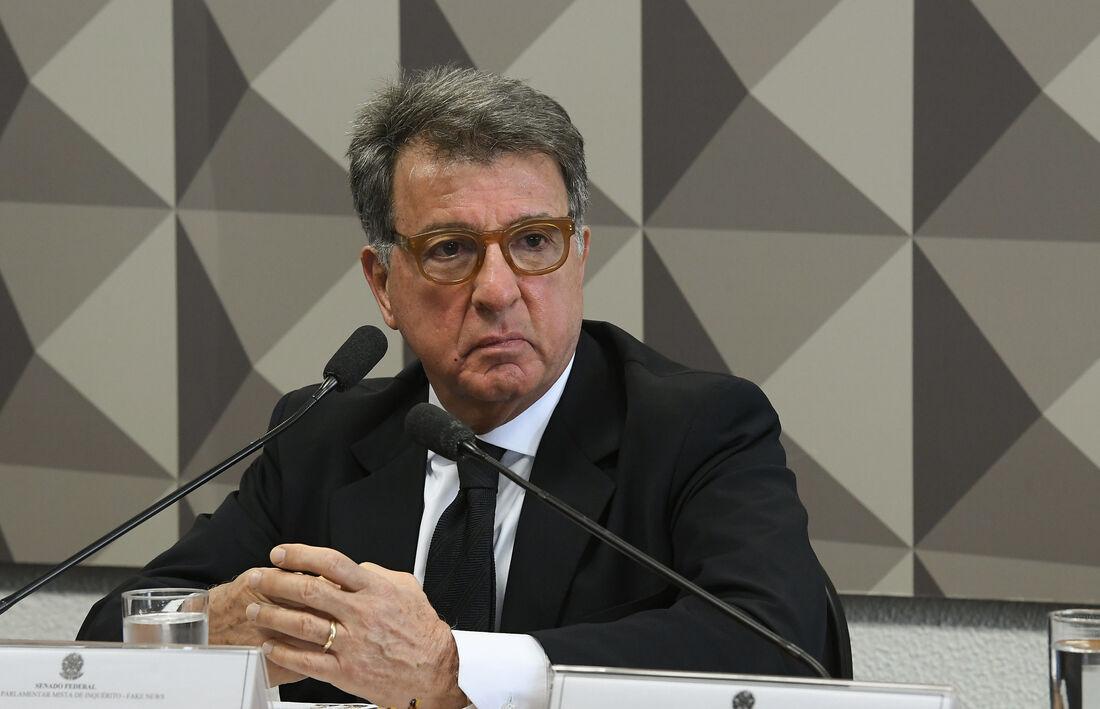 O empresário Paulo Marinho