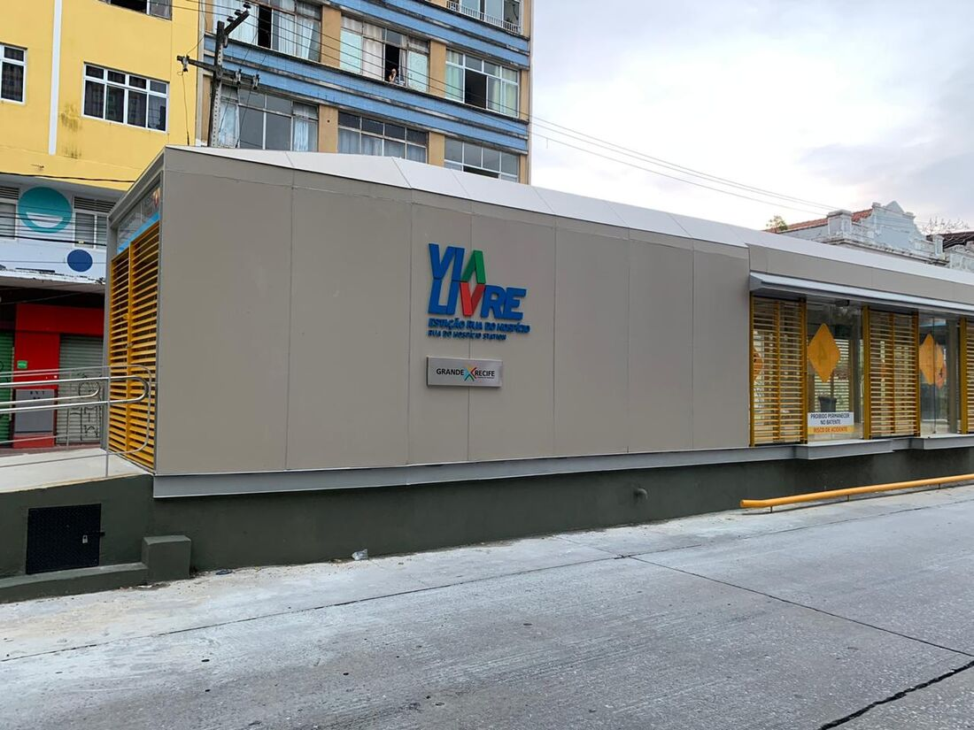 Estação de BRT Rua do Hospício