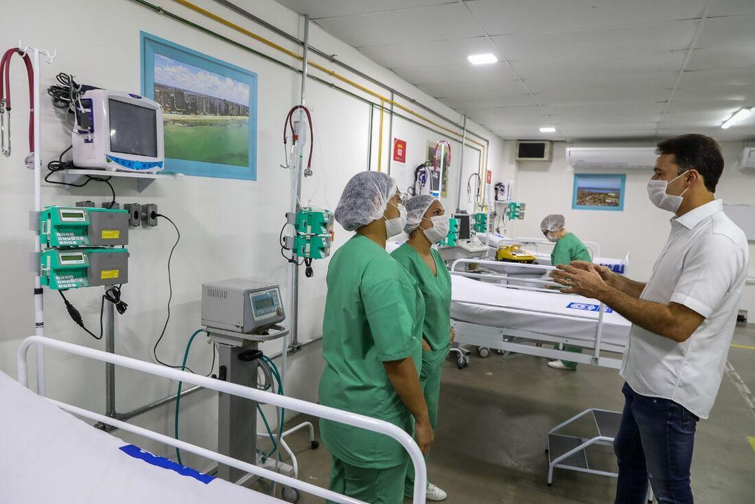 Prefeitura do Jaboatão entrega hospital de campanha