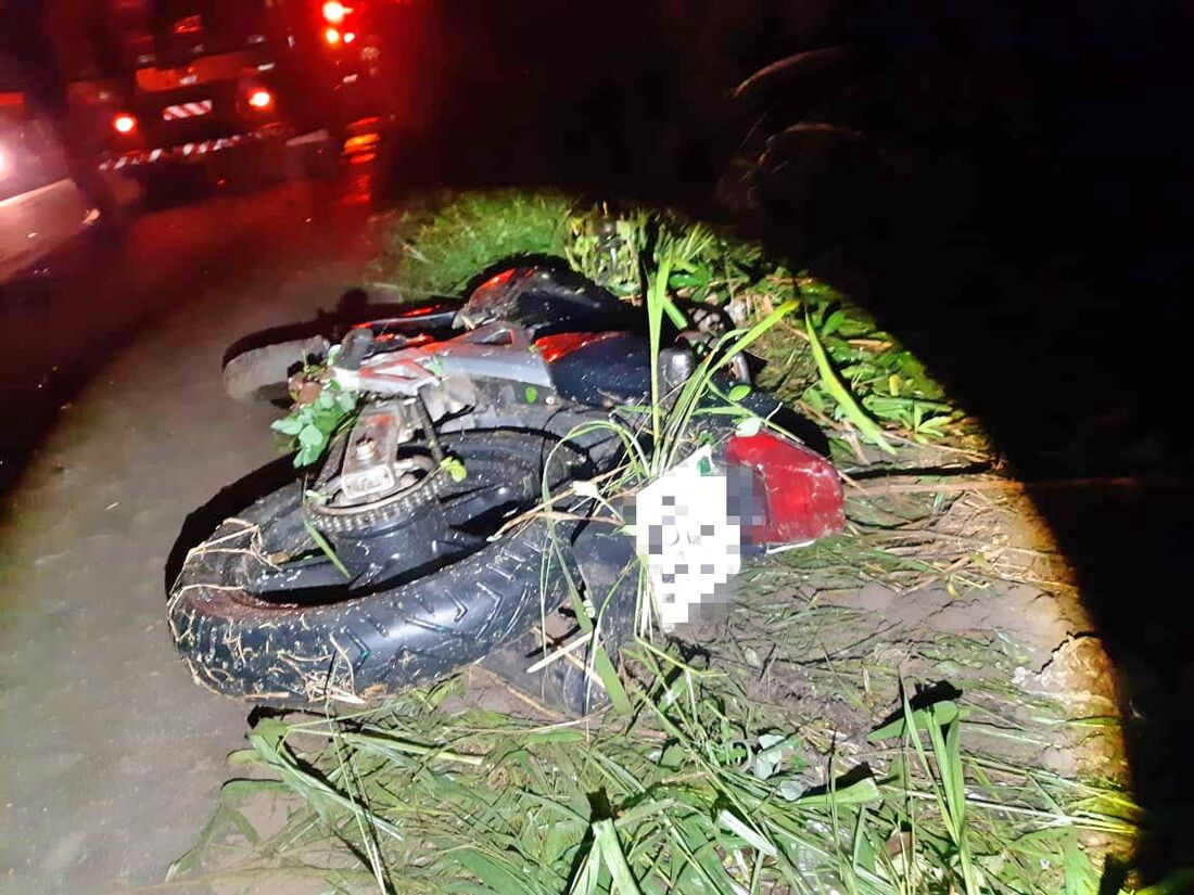 Motociclista morreu no local, segundo a PRF