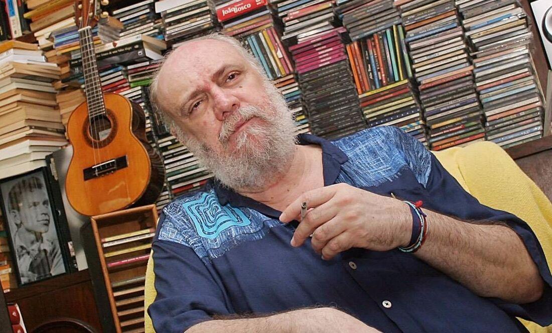 Aldir Blanc, compositor que deu nome à lei