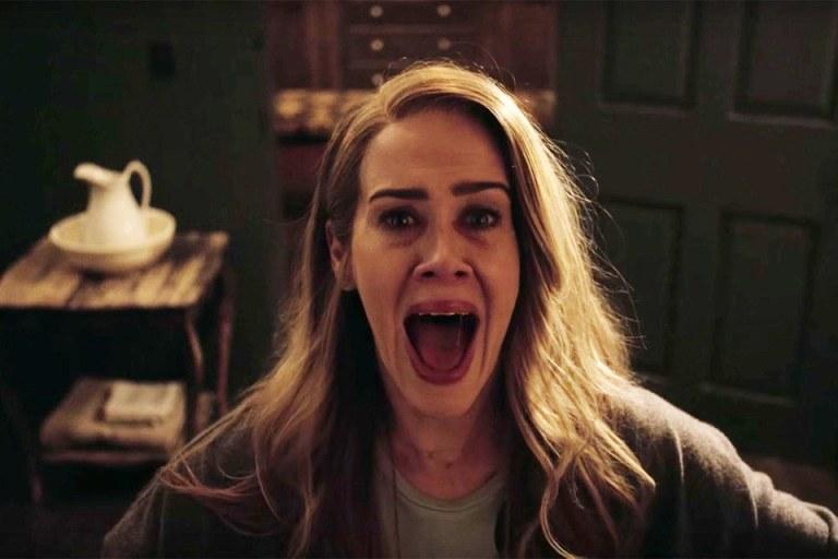 """Sarah Paulson atuou em oito das nove temporadas de """"American Horror Story"""""""