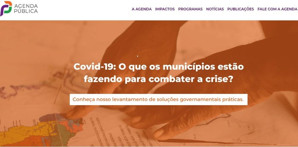 As iniciativas catalogadas até o momento podem ser acessadas no site