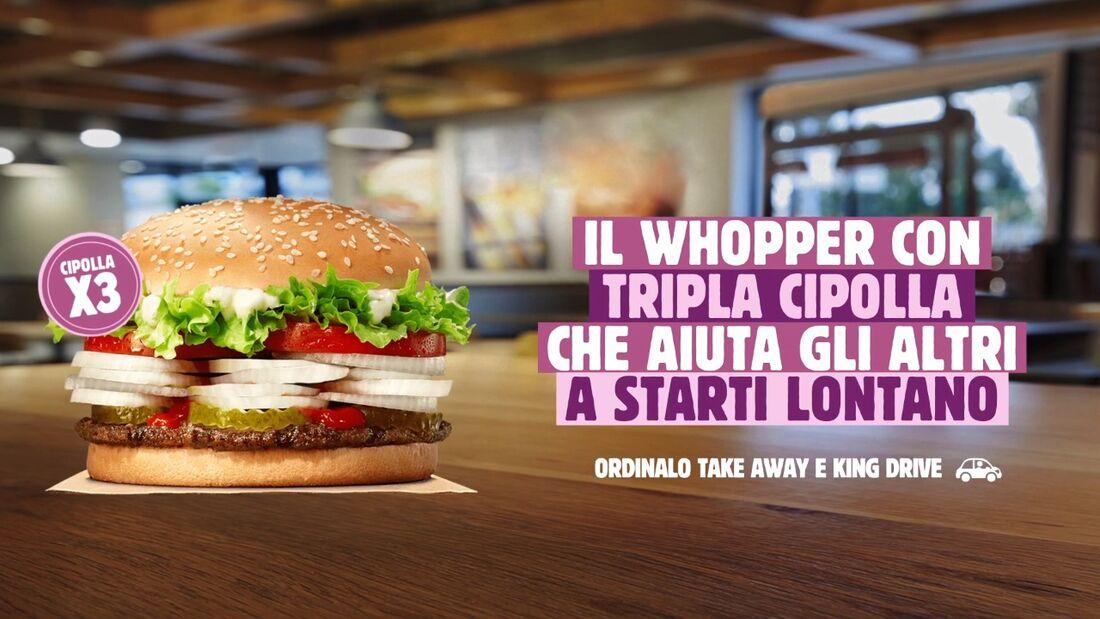 Novo hambúrguer tem três vezes mais cebola crua que o normal