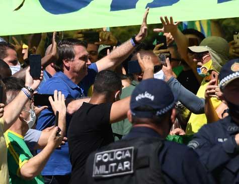 Bolsonaro e General Heleno