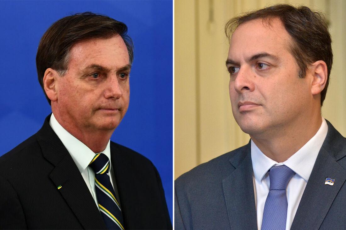 Jair Bolsonaro e Paulo Câmara