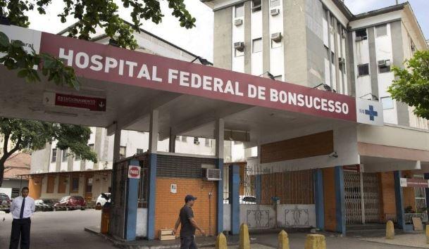 Hospital Federal de Bonsucesso, no Rio de Janeiro