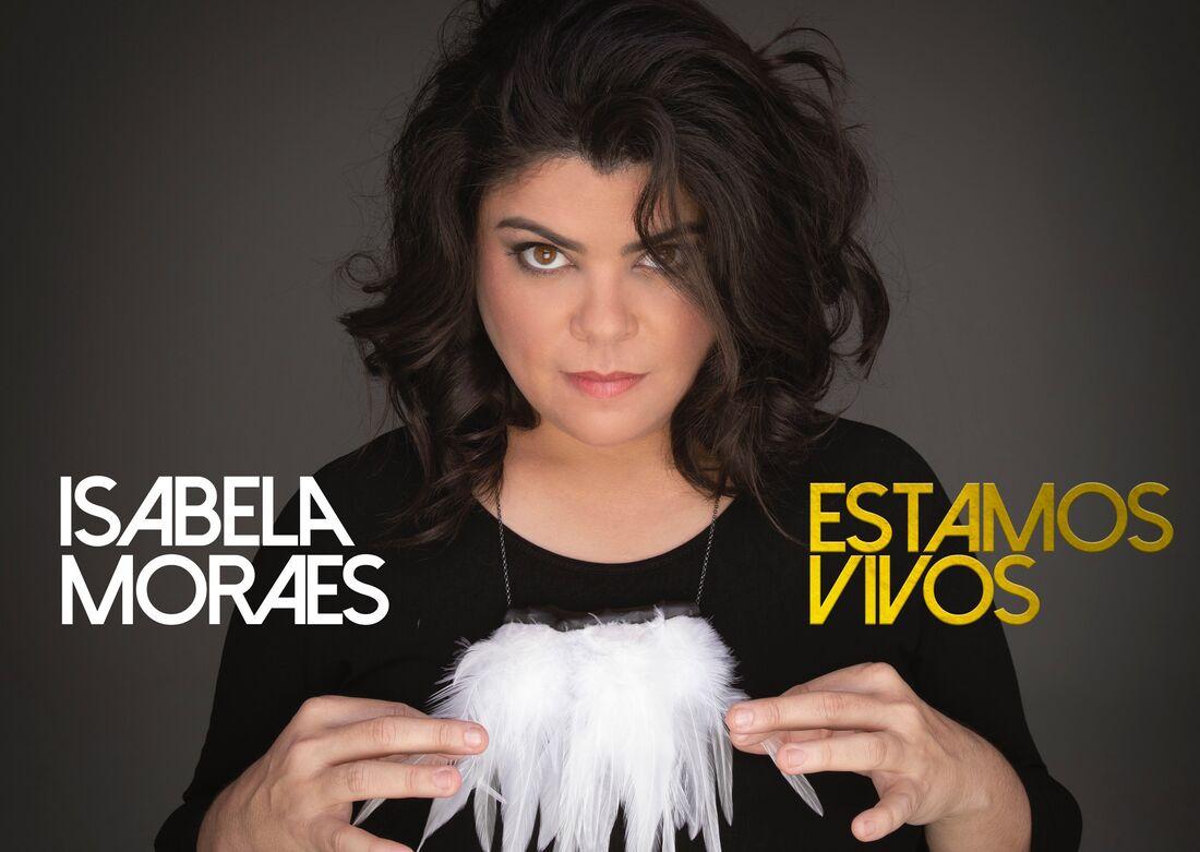 Capa do disco ' Estamos Vivos', de Isabela Moraes