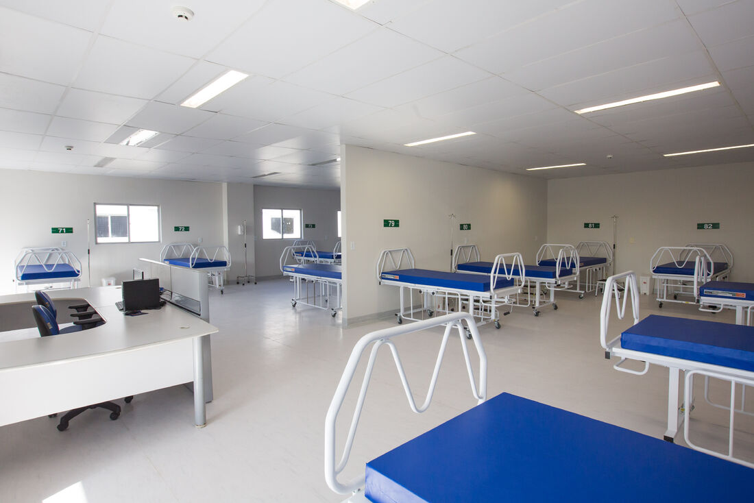Novo Hospital de Campanha em Goiana