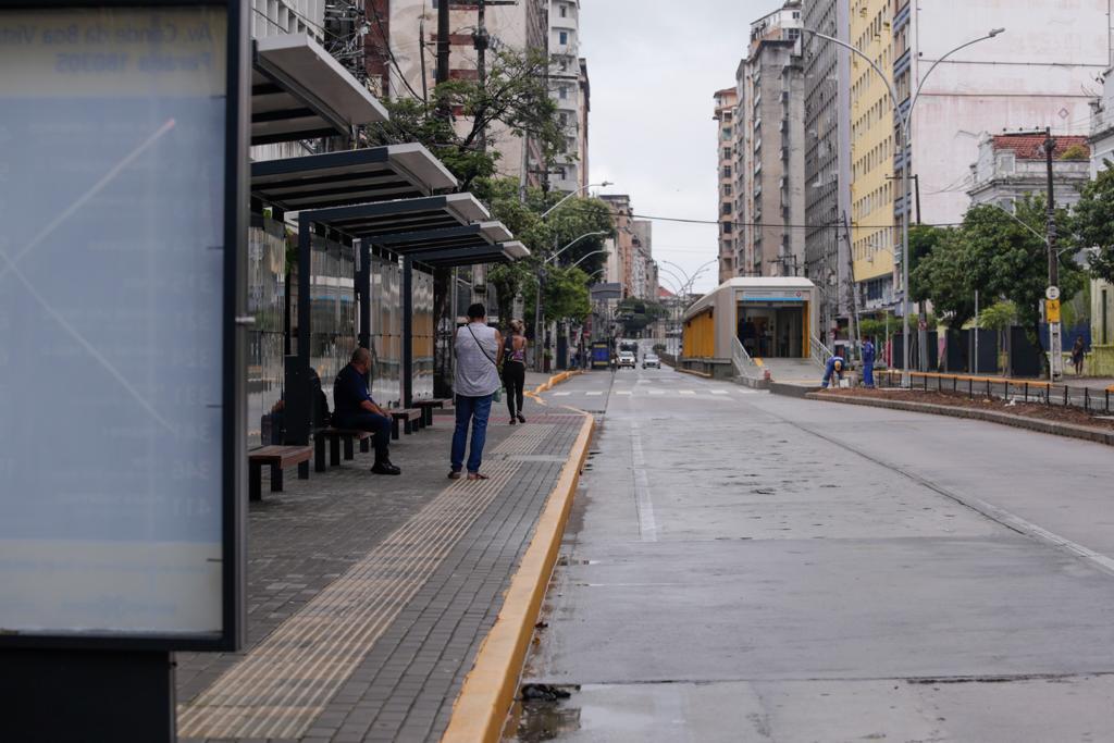 Movimentação na avenida Conde de Boa Vista