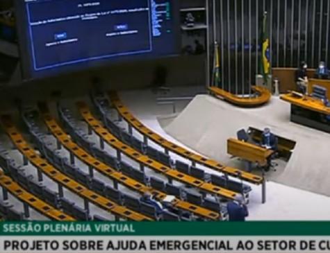 Lei de Emergência Cultural foi aprovada na Câmara dos Deputados