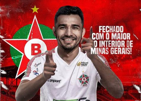 Diego Ceará reforça ataque do Boa