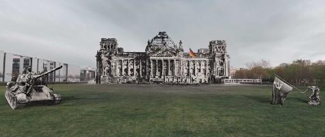 Exposição sobre a Segunda Guerra
