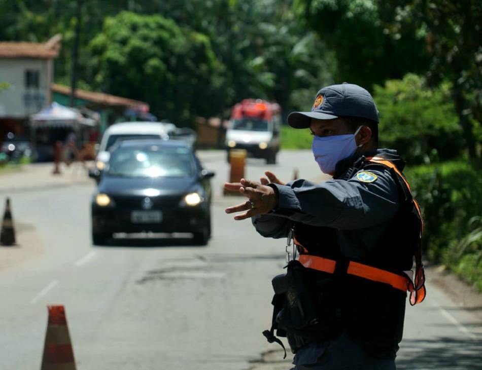 Lockdown em São Luís; medida restringe a entrada de veículos na região metropolitana