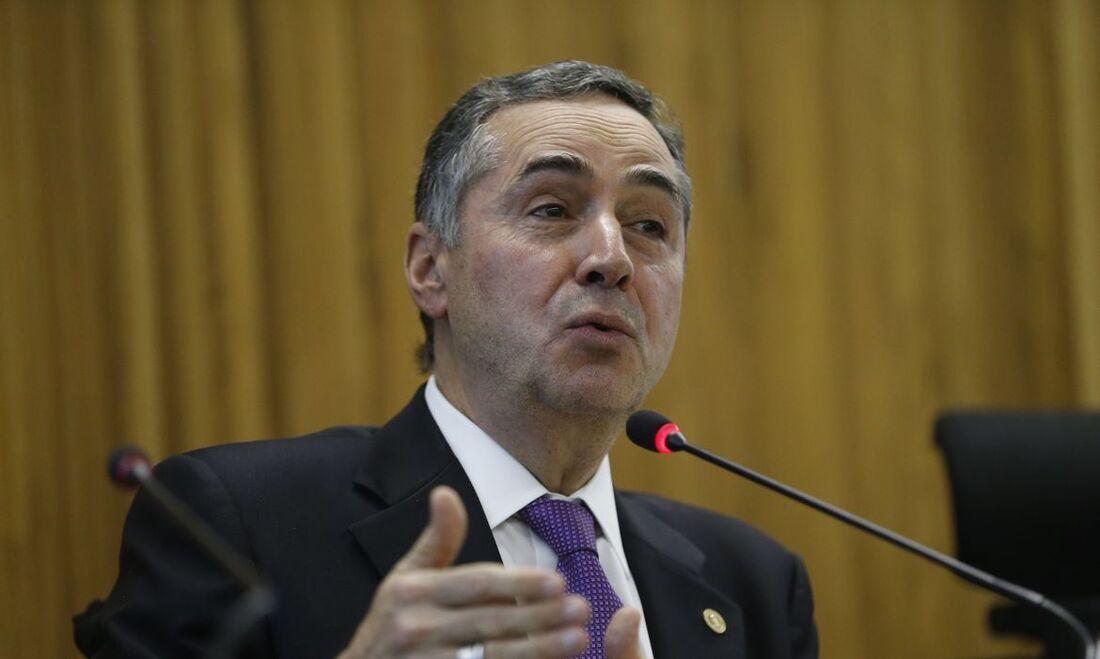 Luis Roberto Barroso, presidente do STE